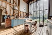 Фото 2 Кухня в стиле кантри (53 фото): душевная простота деревенского быта
