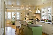 Фото 28 Кухня в стиле кантри (53 фото): душевная простота деревенского быта