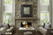 Фото 7 Декоративный камень в интерьере: как привнести в дом уют и все тонкости облицовки