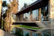 Фото 7 Casa Boher: дом над каналом в пригороде Сантьяго