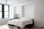 Фото 23 Современный дизайн спальни 12 квадратных метров (60+ фото): планировки и интерьерные тренды
