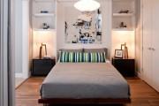 Фото 25 55+ Идей дизайна спальни 12 метров: яркие тенденции, модные фото