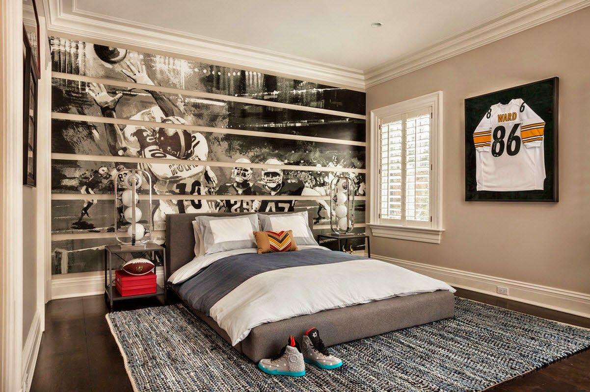 Дизайн интерьера в спальни подростка