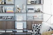 Фото 9 Стеллажи для дома без задней стенки: обзор недорогих и лаконичных моделей в интерьере
