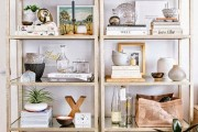 Фото 14 Стеллажи для дома без задней стенки: обзор недорогих и лаконичных моделей в интерьере
