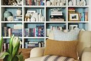 Фото 15 Стеллажи для дома без задней стенки: обзор недорогих и лаконичных моделей в интерьере