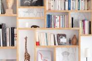 Фото 20 Стеллажи для дома без задней стенки: обзор недорогих и лаконичных моделей в интерьере