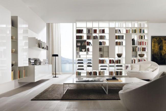 Стеллажи без задней стенки представляют собой очень удобную и функциональную систему хранения