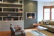 Фото 10 Стенка в гостиную в современном стиле (60 фото): какая она?
