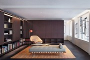 Фото 3 Стенка в гостиную в современном стиле (60 фото): какая она?