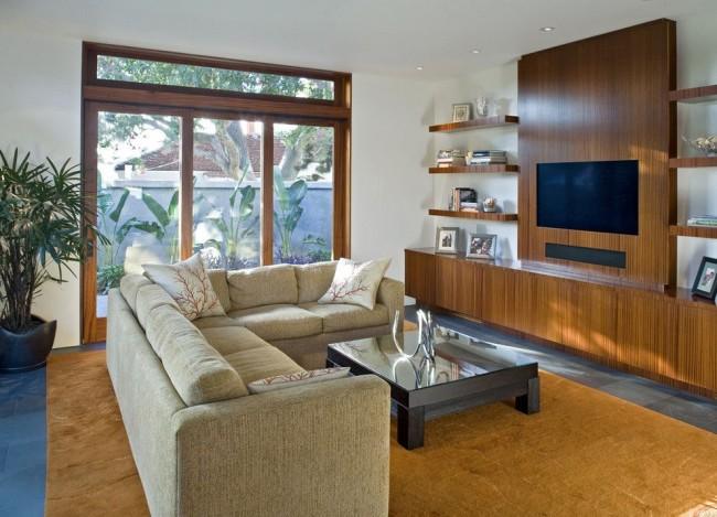 Стенка является популярным предметом мебели в интерьере