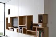 Фото 31 Стенка в гостиную в современном стиле (60 фото): какая она?