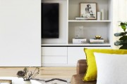 Фото 2 Стенка в гостиную в современном стиле (60 фото): какая она?