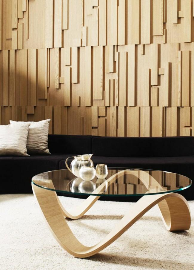 Стеновые панели из дерева придадут вашему интерьеру богатый вид