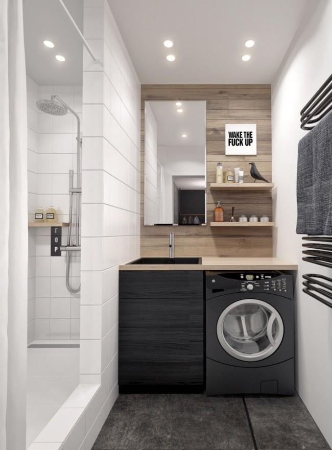 Современная стиральная машина, имеющая отличный дизайн, легко впишется в интерьер вашей квартиры