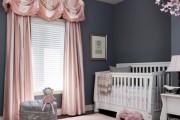 Фото 2 Обои для детской комнаты девочки: 44 интерьера, которые придутся по душе ребенку