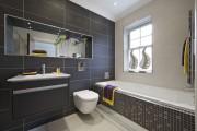 Фото 13 Интерьер ванной комнаты совмещенной с туалетом (62 фото): грамотный подход и тонкости декорирования