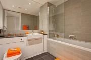 Фото 24 Интерьер ванной комнаты совмещенной с туалетом (62 фото): грамотный подход и тонкости декорирования