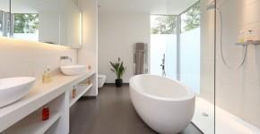 Интерьер ванной комнаты совмещенной с туалетом (62 фото): грамотный подход и тонкости декорирования фото