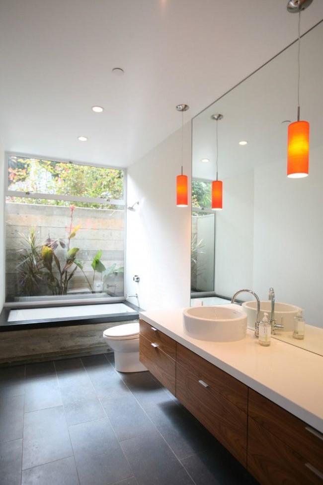 Совмещенная ванная комната с туалетом - это экономия времени и средств при отделке