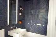 Фото 6 Интерьер ванной комнаты совмещенной с туалетом (62 фото): грамотный подход и тонкости декорирования