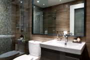 Фото 25 Интерьер ванной комнаты совмещенной с туалетом (62 фото): грамотный подход и тонкости декорирования