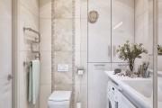 Фото 26 Интерьер ванной комнаты совмещенной с туалетом (62 фото): грамотный подход и тонкости декорирования