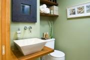 Фото 8 Интерьер ванной комнаты совмещенной с туалетом (62 фото): грамотный подход и тонкости декорирования