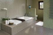 Фото 14 Интерьер ванной комнаты совмещенной с туалетом (62 фото): грамотный подход и тонкости декорирования