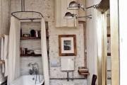 Фото 17 Интерьер ванной комнаты совмещенной с туалетом (62 фото): грамотный подход и тонкости декорирования
