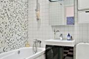 Фото 19 Интерьер ванной комнаты совмещенной с туалетом (62 фото): грамотный подход и тонкости декорирования