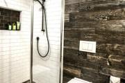 Фото 21 Интерьер ванной комнаты совмещенной с туалетом (62 фото): грамотный подход и тонкости декорирования