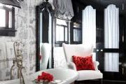 Фото 13 Черно-белая ванная комната (56 фото): шик и оригинальность в вашем доме