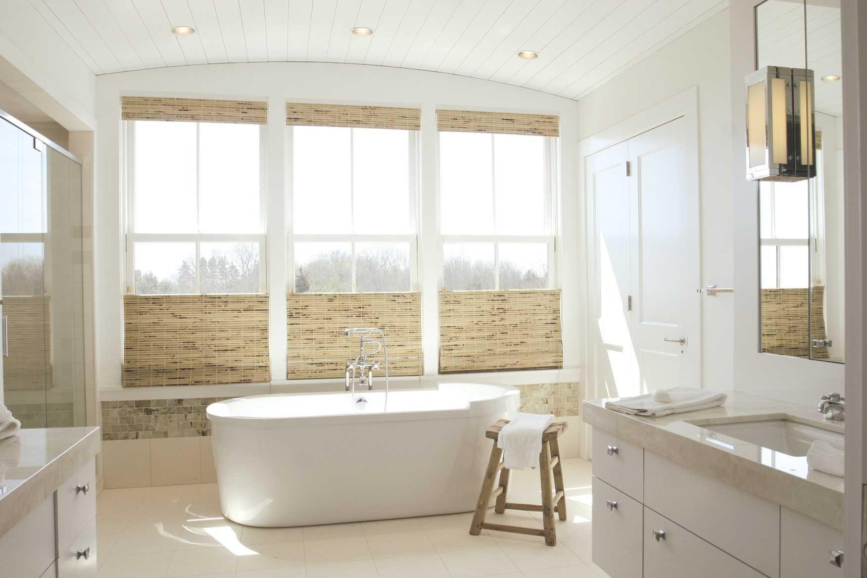 дизайн белой ванной комнаты 75 фото чистая гармония
