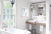 Фото 18 Черно-белая ванная комната (56 фото): шик и оригинальность в вашем доме