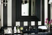 Фото 19 Черно-белая ванная комната (56 фото): шик и оригинальность в вашем доме