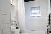Фото 21 Черно-белая ванная комната (56 фото): шик и оригинальность в вашем доме