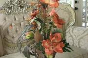 Фото 24 Искусственные цветы для домашнего интерьера: как эффектно украсить жилище