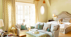 Гостиная и спальня в одной комнате: 120+ универсальных примеров комфортного зонирования фото