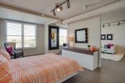 Фото 30 Гостиная и спальня в одной комнате: 120+ примеров комфортного зонирования