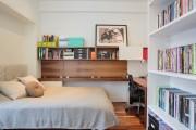 Фото 6 Гостиная и спальня в одной комнате: 120+ примеров комфортного зонирования