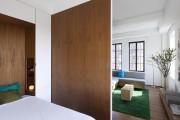 Фото 9 Гостиная и спальня в одной комнате: 120+ примеров комфортного зонирования