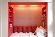 Фото 13 Гостиная и спальня в одной комнате: 120+ примеров комфортного зонирования
