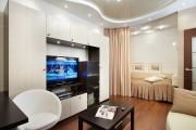 Фото 15 Гостиная и спальня в одной комнате: 120+ примеров комфортного зонирования