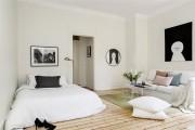 Фото 19 Гостиная и спальня в одной комнате: 120+ примеров комфортного зонирования
