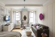 Фото 20 Гостиная и спальня в одной комнате: 120+ примеров комфортного зонирования