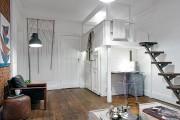 Фото 22 Гостиная и спальня в одной комнате: 120+ примеров комфортного зонирования