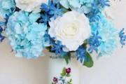 Фото 3 Искусственные цветы для домашнего интерьера: как эффектно украсить жилище