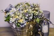 Фото 14 Искусственные цветы для домашнего интерьера: как эффектно украсить жилище
