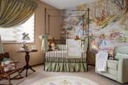 Фото 25 Обои для детской комнаты девочки: 44 интерьера, которые придутся по душе ребенку